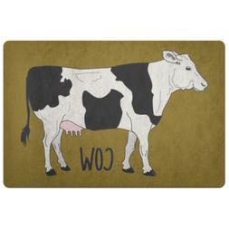 Cow Doormat, Door mat, Decor mats, Printed Mats, Design mats