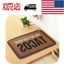 Door Mat Carpet Outdoor Indoor Doormat Anti-slip Bedroom Kit