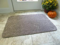 Absorbent Indoor Doormat, Entry Dirt Trapper, Non Slip Back,