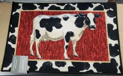 EGYPTIAN PRINTED NYLON RUG   COW