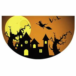 Halloween Indoor Entry Way Doormat for Front Door Patio Anti