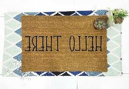 Hello There Door mat porch decoration funny for door coco co