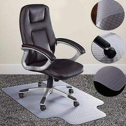 """Hot 36""""x48""""Chair PVC Floor Mat Home Office Studded Back with"""