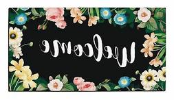 Housewarming Gifts for New Home Flower Welcome Mat Outdoor o