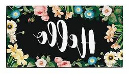 Housewarming Gifts for New Home Hello Welcome Mat Outdoor or