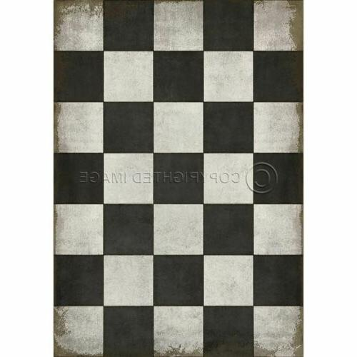 classic pattern 7 checkered past rectangle floor