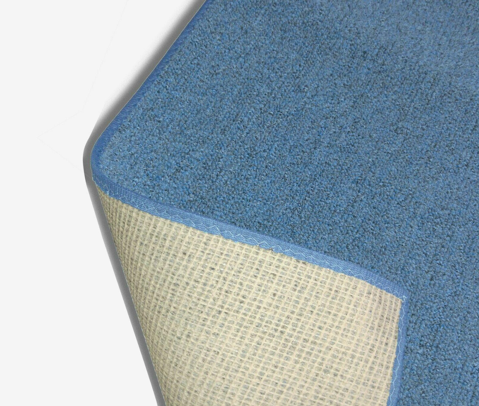 Cobalt Level Loop Area Rug Carpet Available in Sizes