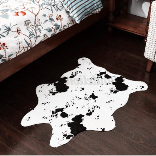 Cow Rug Animal Carpet Door Cowhide