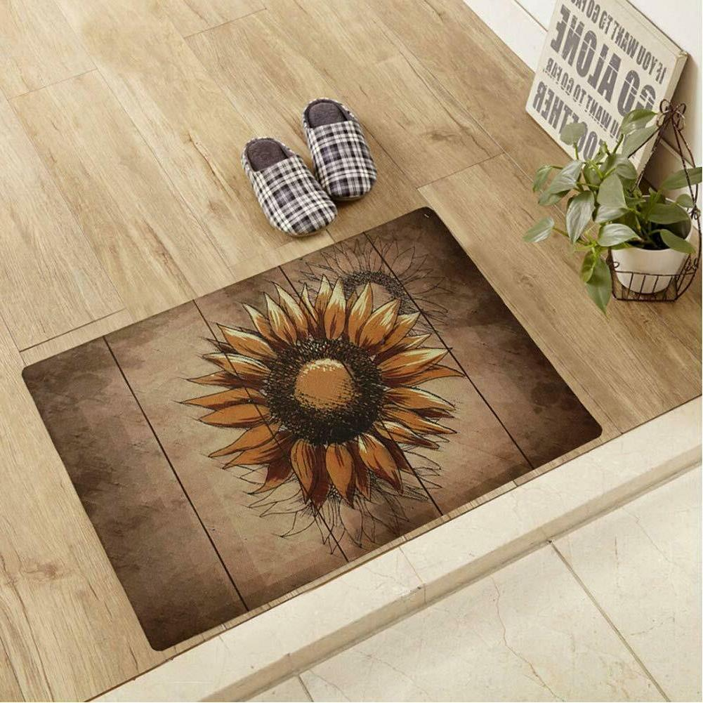 welcome entrance mat rug for indoor outdoor