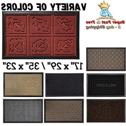 Low Profile Durable Rubber Door Mat Heavy Duty Doormat Indoo