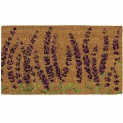 Juvale Natural Coir Door Mat - All Season Indoor Outdoor Wel