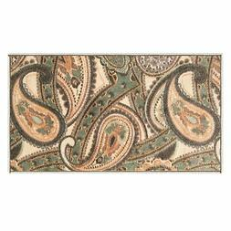 Silk & Sultans Agathe Collection Contemporary Beige Paisley