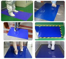 Sticky Mat Contamination Laboratory Clean Room Blue10 mats 3